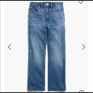 Slim Wide Leg Crop Jean Light Wash
